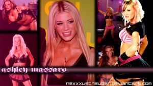 Ashley Massaro Wallpaper [1300x731] by neXXXusTheUber