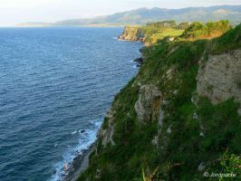 Asturian cliffs by Jorapache