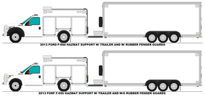 Ford F-550 Hazmat Support base by MisterPSYCHOPATH3001