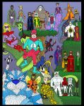 Who'sWho: My Heroes I by Lordwormm