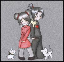 Pucca y Garu by My-Michelle
