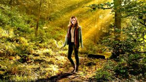 Emma Watson Hermione in the Forest by Dave-Daring