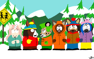 South Park Furries by mari-su