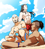 AtLA Beach Boys by FrailElement