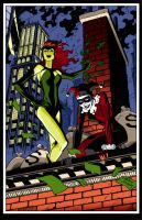 Harley and Ivy by gafami
