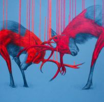 Wild Times (large - commission) by LouiseMcNaught