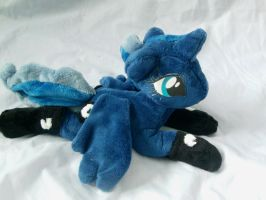 Bed time Luna by DappleHeartPlush