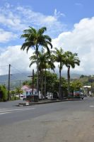 South entrance of Saint-Pierre in Martinique by A1Z2E3R