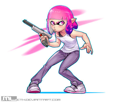 Splatoon - Lynn by MLeth