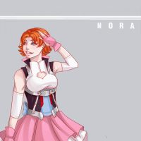 Nora Valkyrie by InAnOrdinaryWay