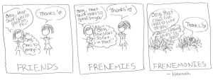Frenemonies by hannz0rz