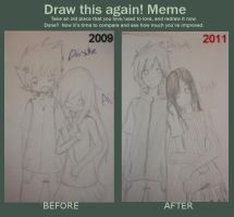 Before and After Meme by cherrychip