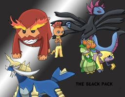 The Black Pack by FableWing