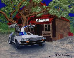 DeLorean 2S1 Luckenbach by DeloreanREB