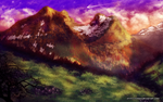 In the Mountains by Xiraus