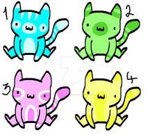 ~2 Point Cat Adopts!~ .:Open:. by Prettyxmouse