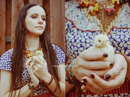 my sweet chick by Malvina-Frolova