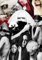 The Fame Monster Collage by MonsterGleek