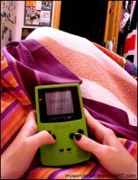 GameBoy Color Time by mywonderart