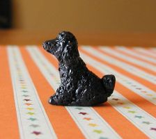 Poodle Sculpture by LeiliaK