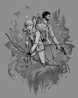 The Last of Us shirt design by Luthie13