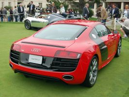 2010 Audi R8 V10 Pebble Beach by Partywave