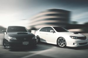 Black and White WRX Duo by PatrickMcGehee