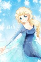 Elsa - Frozen by Avaloki