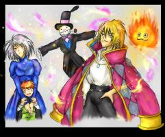 ..Howl's Moving Castle.. by kawaiitas