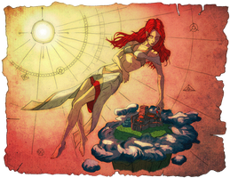 ANCIENT TRUE ABOUT REDHEADS by Rievil