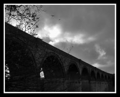 Viaduct by moonstomp