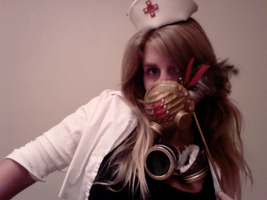 Surgical Gas Mask by masquerangel