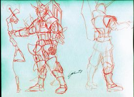 Armored Male Design 1 by creon77