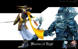 Dissidia Warrior of Light by Shadow-Heartless
