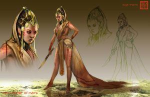 Dejah Thoris by kineticflow