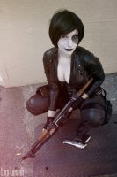 Domino - The X-Men - Smile by cosplaylala