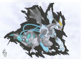 Black Kyurem by palahniuksin666