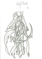 NightShade War Pic: Uncoloured by xxxBrokenSoulxxx