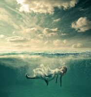 Drowning by mossaabdaoui