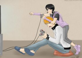 Video games by Tenshi-Inverse
