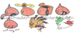 Mameshiba Pokemon Project 12 1/2 by StrawberrieMew