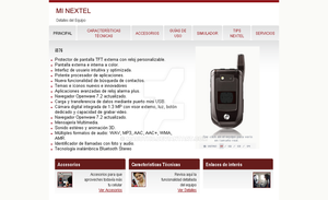 nextel by macutho