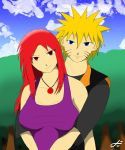 Request Piece - Naruto and Karin by Dustin-The-Grimm