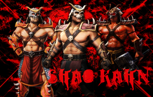 Shao Kahn - Ruler of Outworld by IamSubZero