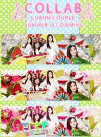28/4-Summer Is Comming [Collab] with Luhye by BunnyLuvU