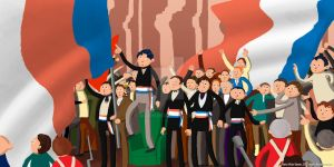 French Revolution - Bastille Commotion by Asaph
