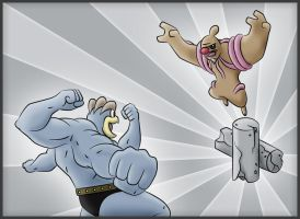 Machamp Vs. Conkeldurr