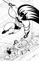 BATMAN to the Rescue by LostonWallace