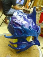 Aquatic Mask by Recycled-Oxygen