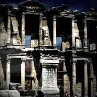 Library of Celsus by lostknightkg